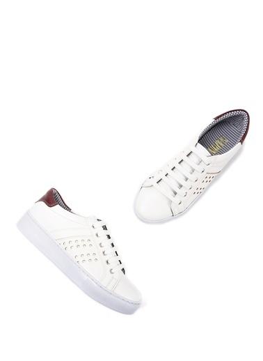 Sapin Sneaker Ayakkabı Bordo